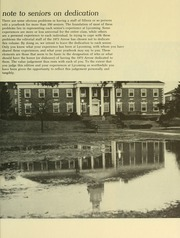 Page 5, 1973 Edition, Lycoming College - Arrow Yearbook (Williamsport, PA) online yearbook collection