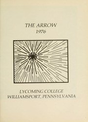 Page 5, 1976 Edition, Lycoming College - Arrow Yearbook (Williamsport, PA) online yearbook collection