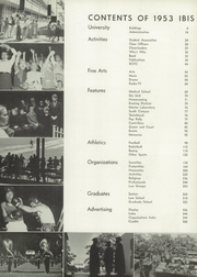 Page 11, 1953 Edition, University of Miami - Ibis Yearbook (Coral Gables, FL) online yearbook collection