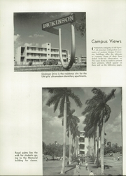 Page 14, 1953 Edition, University of Miami - Ibis Yearbook (Coral Gables, FL) online yearbook collection