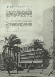 Page 9, 1953 Edition, University of Miami - Ibis Yearbook (Coral Gables, FL) online yearbook collection