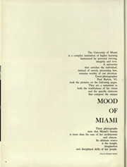 Page 12, 1964 Edition, University of Miami - Ibis Yearbook (Coral Gables, FL) online yearbook collection