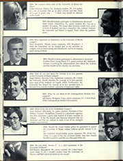 Page 106, 1968 Edition, University of Miami - Ibis Yearbook (Coral Gables, FL) online yearbook collection
