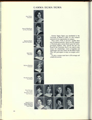 Page 262, 1968 Edition, University of Miami - Ibis Yearbook (Coral Gables, FL) online yearbook collection