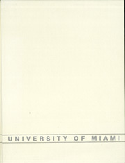 1980 Edition, University of Miami - Ibis Yearbook (Coral Gables, FL)
