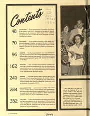 Page 6, 1986 Edition, University of Miami - Ibis Yearbook (Coral Gables, FL) online yearbook collection