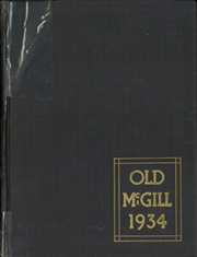 Page 1, 1934 Edition, McGill University - Old McGill Yearbook (Montreal Quebec, Canada) online yearbook collection