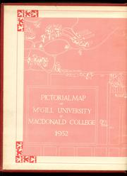 Page 2, 1952 Edition, McGill University - Old McGill Yearbook (Montreal Quebec, Canada) online yearbook collection