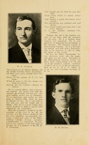 Page 9, 1910 Edition, Presbyterian College - Pac Sac Yearbook (Clinton, SC) online yearbook collection