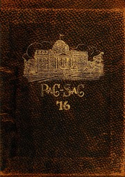 Page 1, 1916 Edition, Presbyterian College - Pac Sac Yearbook (Clinton, SC) online yearbook collection