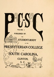 Page 11, 1916 Edition, Presbyterian College - Pac Sac Yearbook (Clinton, SC) online yearbook collection