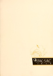 Page 5, 1939 Edition, Presbyterian College - Pac Sac Yearbook (Clinton, SC) online yearbook collection