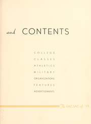 Page 9, 1939 Edition, Presbyterian College - Pac Sac Yearbook (Clinton, SC) online yearbook collection