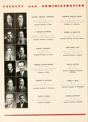Page 16, 1950 Edition, Presbyterian College - Pac Sac Yearbook (Clinton, SC) online yearbook collection