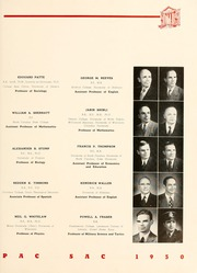Page 17, 1950 Edition, Presbyterian College - Pac Sac Yearbook (Clinton, SC) online yearbook collection