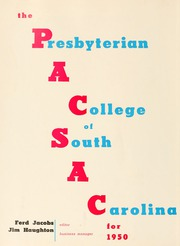 Page 6, 1950 Edition, Presbyterian College - Pac Sac Yearbook (Clinton, SC) online yearbook collection
