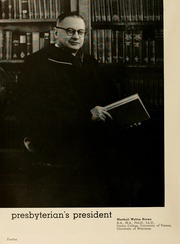 Page 16, 1954 Edition, Presbyterian College - Pac Sac Yearbook (Clinton, SC) online yearbook collection