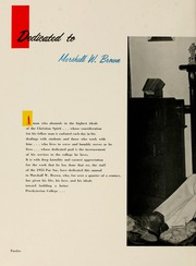 Page 16, 1955 Edition, Presbyterian College - Pac Sac Yearbook (Clinton, SC) online yearbook collection