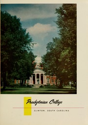 Page 5, 1955 Edition, Presbyterian College - Pac Sac Yearbook (Clinton, SC) online yearbook collection