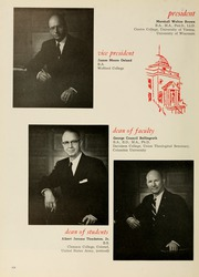 Page 10, 1961 Edition, Presbyterian College - Pac Sac Yearbook (Clinton, SC) online yearbook collection
