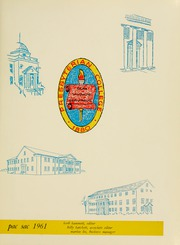 Page 5, 1961 Edition, Presbyterian College - Pac Sac Yearbook (Clinton, SC) online yearbook collection