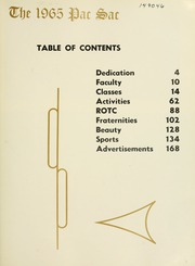 Page 7, 1965 Edition, Presbyterian College - Pac Sac Yearbook (Clinton, SC) online yearbook collection