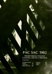 Page 5, 1982 Edition, Presbyterian College - Pac Sac Yearbook (Clinton, SC) online yearbook collection