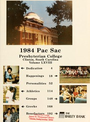 Page 5, 1984 Edition, Presbyterian College - Pac Sac Yearbook (Clinton, SC) online yearbook collection