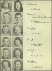 Page 16, 1945 Edition, Carlsbad High School - Echo Yearbook (Carlsbad, NM) online yearbook collection