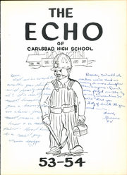 Page 7, 1954 Edition, Carlsbad High School - Echo Yearbook (Carlsbad, NM) online yearbook collection