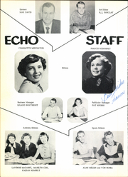 Page 8, 1954 Edition, Carlsbad High School - Echo Yearbook (Carlsbad, NM) online yearbook collection