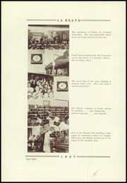Page 12, 1937 Edition, Albuquerque High School - La Reata Yearbook (Albuquerque, NM) online yearbook collection