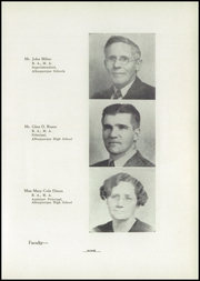 Page 15, 1940 Edition, Albuquerque High School - La Reata Yearbook (Albuquerque, NM) online yearbook collection