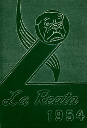 1954 Edition, Albuquerque High School - La Reata Yearbook (Albuquerque, NM)