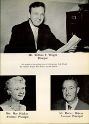 Page 17, 1959 Edition, Albuquerque High School - La Reata Yearbook (Albuquerque, NM) online yearbook collection