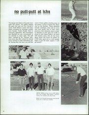 Page 54, 1986 Edition, Las Cruces High School - Crosses Yearbook (Las Cruces, NM) online yearbook collection