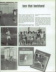 Page 57, 1986 Edition, Las Cruces High School - Crosses Yearbook (Las Cruces, NM) online yearbook collection
