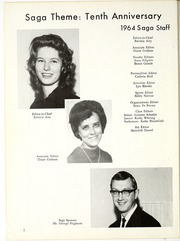 Page 6, 1964 Edition, Valley High School - Saga Yearbook (Albuquerque, NM) online yearbook collection