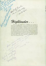 Page 8, 1953 Edition, Highland High School - Highlander Yearbook (Albuquerque, NM) online yearbook collection