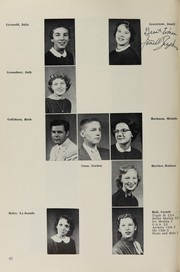 Page 56, 1956 Edition, Highland High School - Highlander Yearbook (Albuquerque, NM) online yearbook collection