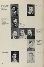 Page 58, 1956 Edition, Highland High School - Highlander Yearbook (Albuquerque, NM) online yearbook collection