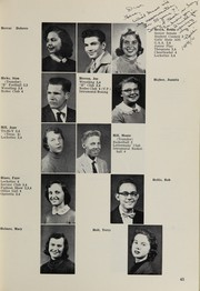 Page 59, 1956 Edition, Highland High School - Highlander Yearbook (Albuquerque, NM) online yearbook collection