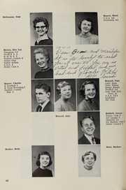 Page 60, 1956 Edition, Highland High School - Highlander Yearbook (Albuquerque, NM) online yearbook collection