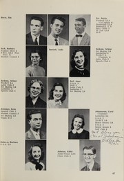 Page 61, 1956 Edition, Highland High School - Highlander Yearbook (Albuquerque, NM) online yearbook collection