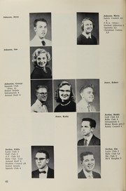 Page 62, 1956 Edition, Highland High School - Highlander Yearbook (Albuquerque, NM) online yearbook collection