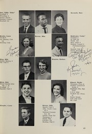 Page 63, 1956 Edition, Highland High School - Highlander Yearbook (Albuquerque, NM) online yearbook collection