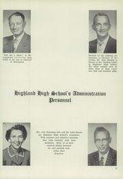 Page 17, 1957 Edition, Highland High School - Highlander Yearbook (Albuquerque, NM) online yearbook collection