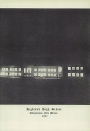 Page 9, 1957 Edition, Highland High School - Highlander Yearbook (Albuquerque, NM) online yearbook collection