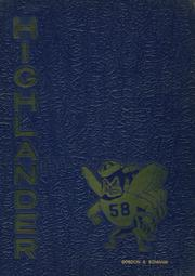 Highland High School - Highlander Yearbook (Albuquerque, NM) online yearbook collection, 1958 Edition, Page 1