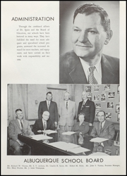 Page 14, 1959 Edition, Highland High School - Highlander Yearbook (Albuquerque, NM) online yearbook collection